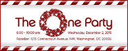 ONE Holiday Party